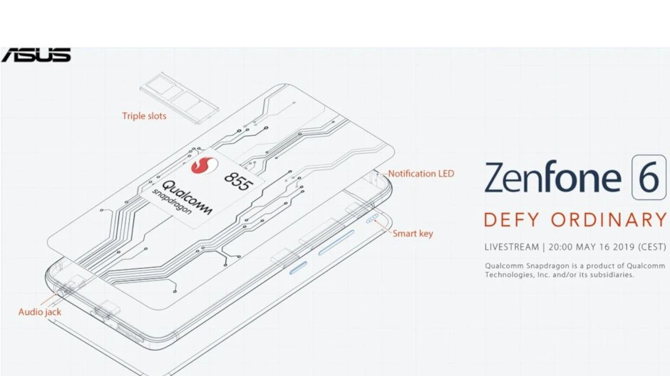 Asus reveals powerful specs for upcoming Zenfone 6
