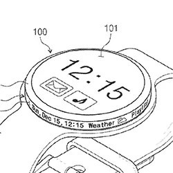 Samsung's latest smartwatch patent puts a screen on the