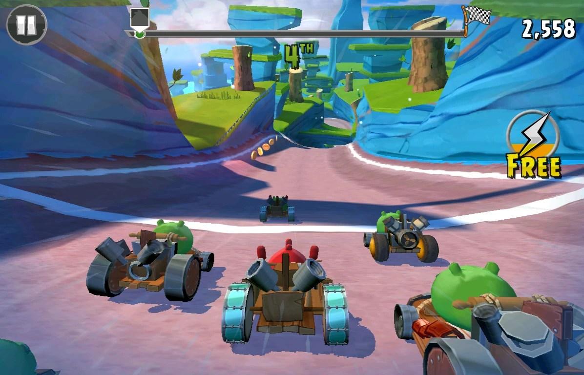 Birds Kart 8 Angry Racing
