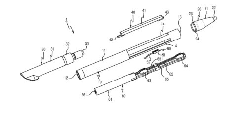 Samsung patents a stylus with a microphone and a speaker