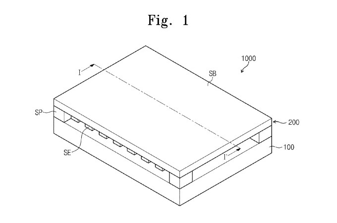 Samsung receives a patent for a force-sensitive
