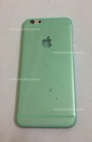 Claimed iPhone 6 chassis rear