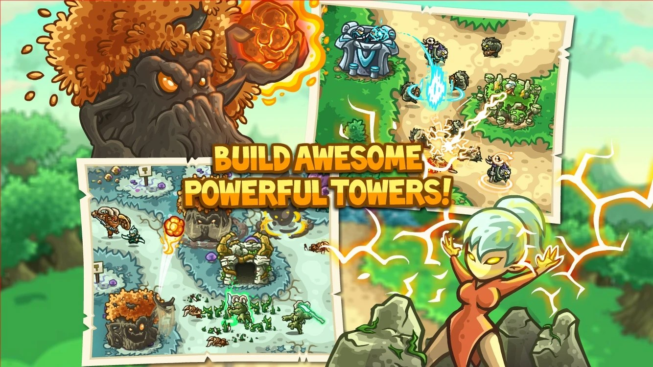 Iphone X Inside View Wallpaper Kingdom Rush Origins Lands On Android And Ios