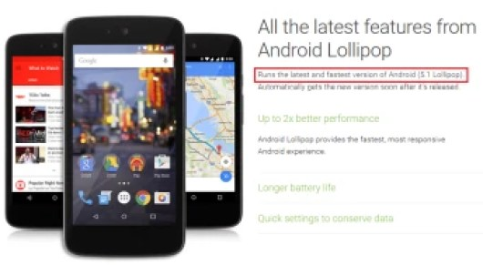 Android 5.1 has been released by Google