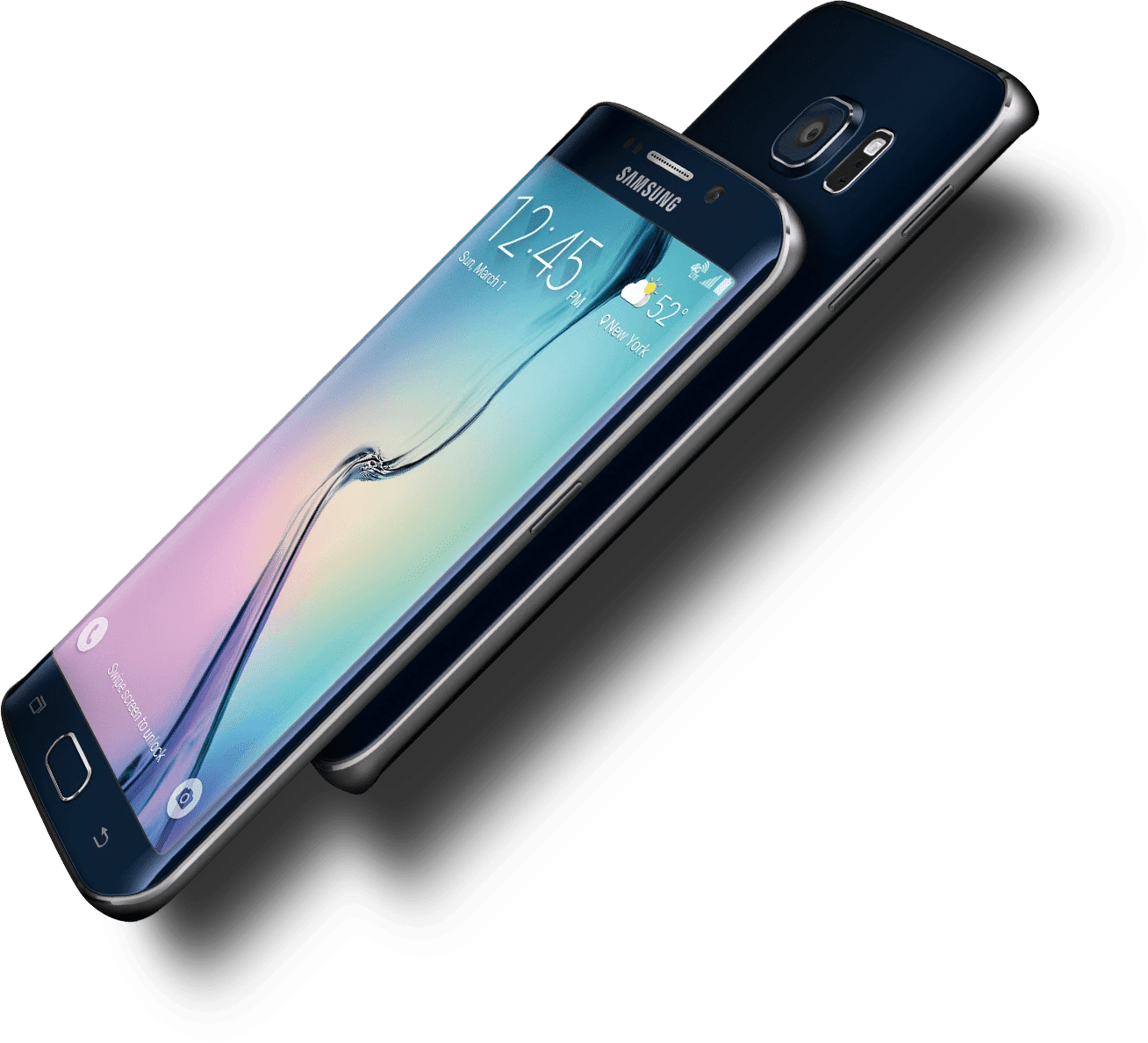 Samasung Galaxy S6 Edge black-e