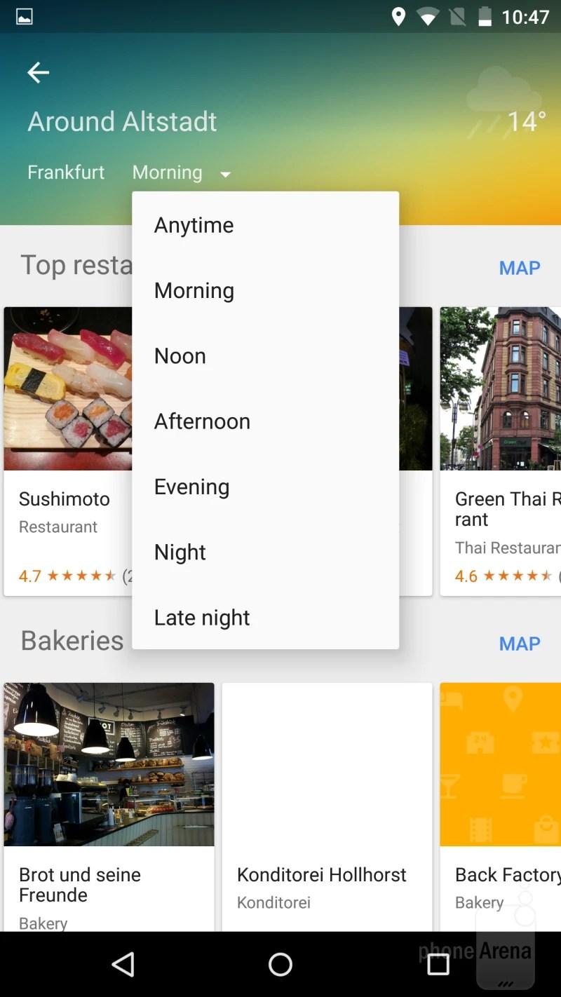 Google Maps' new 'Around X' feature