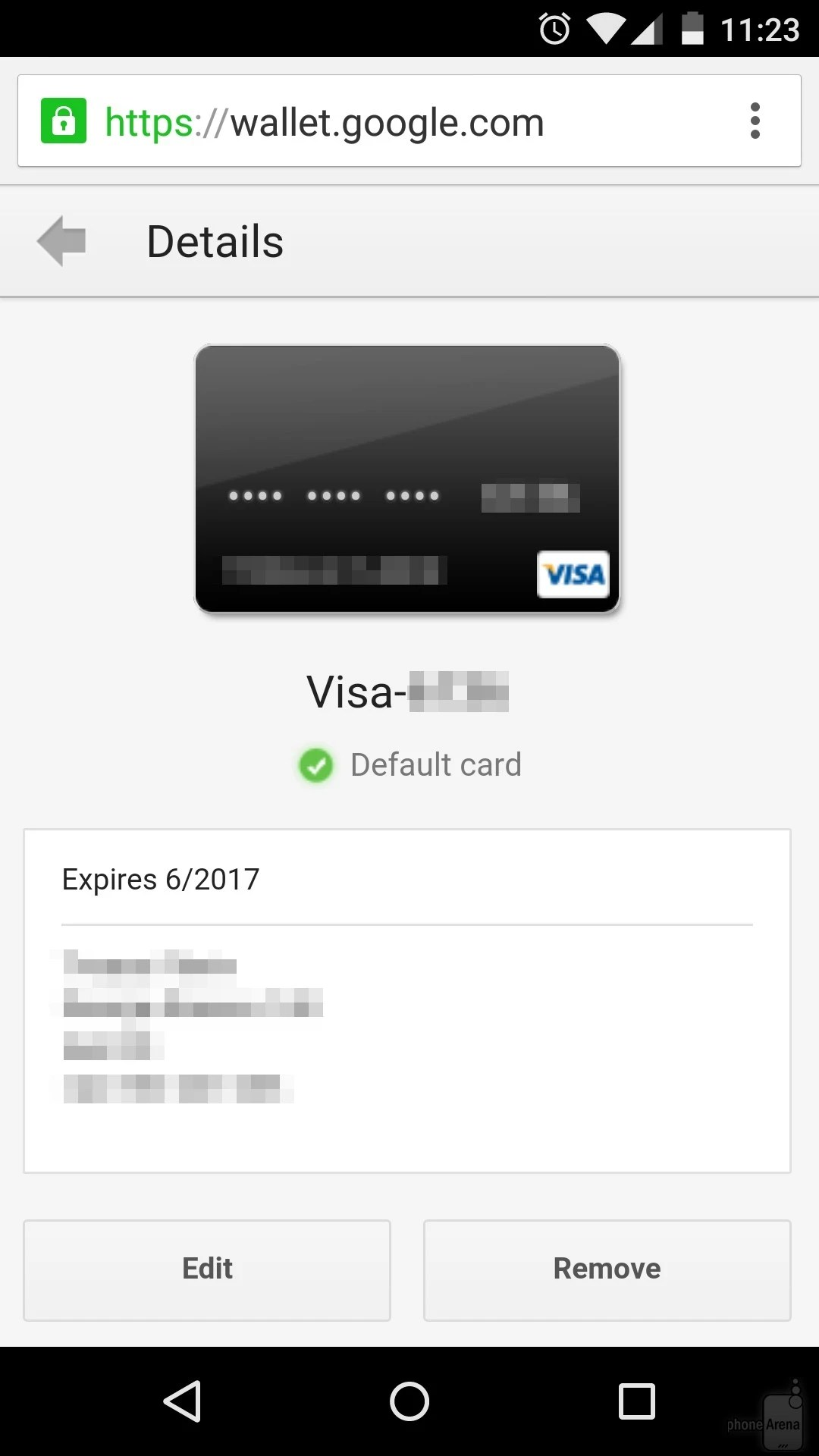 google play remove credit card info billingss co