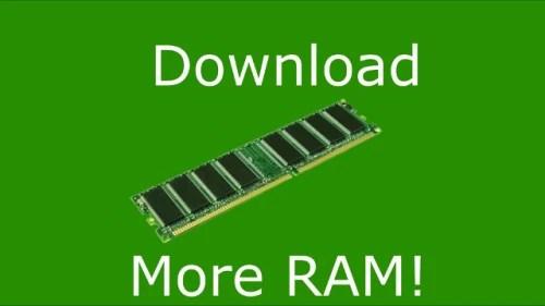 4 gigs of RAM