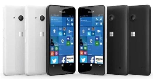 Microsoft announces the super-affordable Lumia 550 with Windows 10