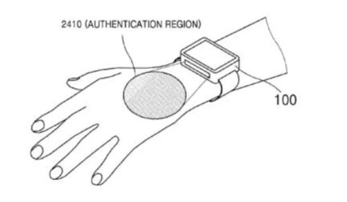 Future Samsung smartwatch could use your veins for