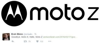 The Motorola Moto X series is dead, Moto Z will take its