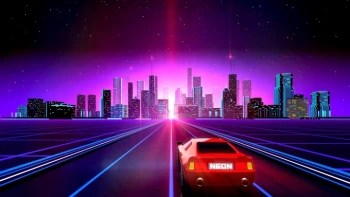Hotline Miami Car Wallpaper Neon Drive Is A High Speed Racing Rhythm Game Lit With 80