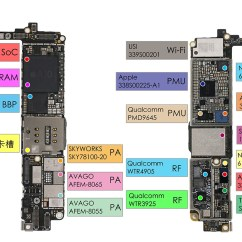 Iphone 4 Disassembly Diagram Wiring For Kenwood Car Radio First Apple 7 Teardown Reveals 1960 Mah Battery 2