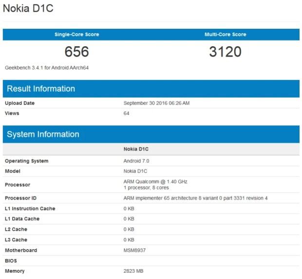 Новая Nokia получит Android 7.0 и 3 ГБ «оперативки»