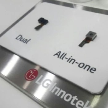 LG's new all-in-one sensor, as showcased at KES 2016. This sensor will be implemented in LG's future smartphones, it's just not certain that it will happen next year