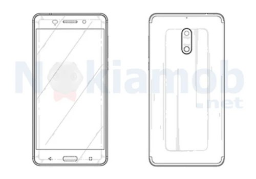 HMD patents the design of the Nokia 6