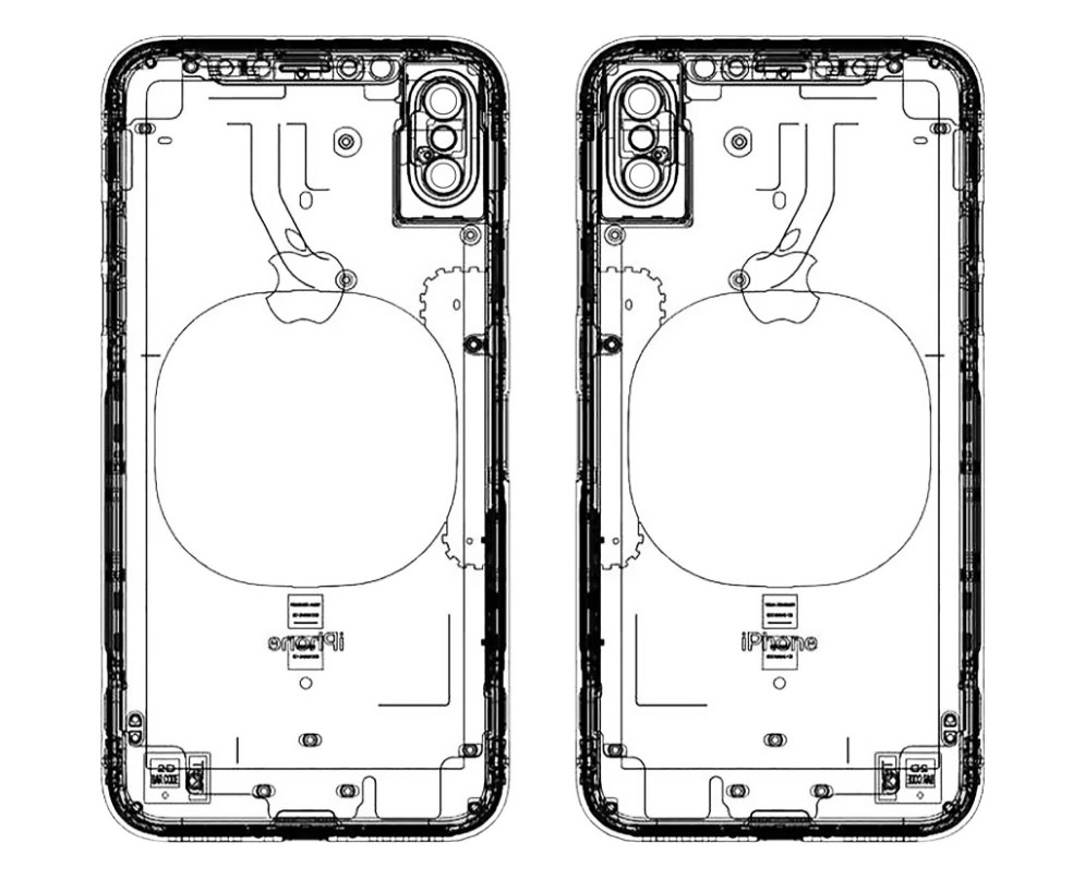 Another leaked schematic of the iPhone 8: no finger