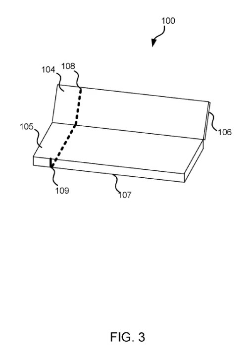 Microsoft patent application shows metallic Surface Phone