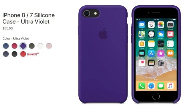 Apple iPhone 8 Silicone Case ($35)