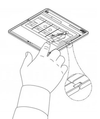 Microsoft patent images reveal folding Surface tablet
