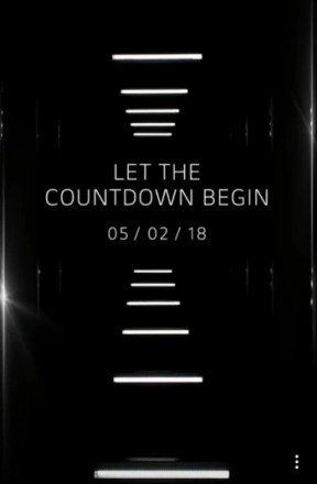 LG starts the countdown toward the May 2nd unveiling of the LG G7 ThinQ
