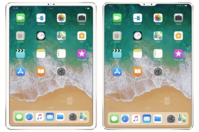 This is what a bezel-less iPad with Face ID could look like, and it doesn't need a notch