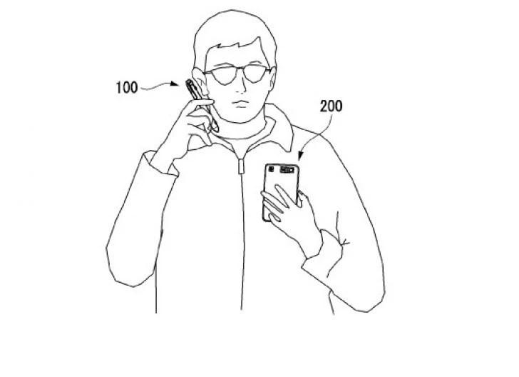 LGs smart pen patent application images - إل جي سجلت براءة اختراع قلم بشاشتين بديلاً عن الجوالات