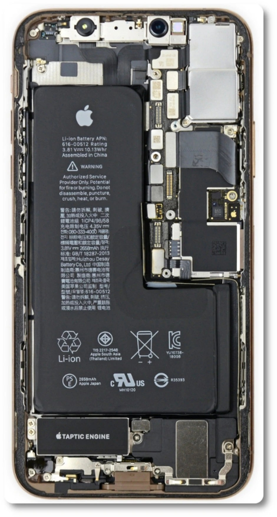 Ifixit Iphone X Wallpaper First Iphone Xs Max Teardown Reveals Why It Costs 599 To