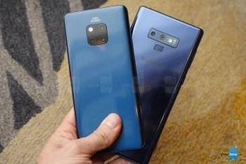 Huawei Mate 20 Pro vs Samsung Galaxy Note 9: first look | PhoneArena reviews - PhoneArena