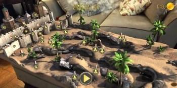 knightfall - للتحميل خمسة من أفضل ألعاب الواقع المعزز لهواتف الأندرويد و iOS