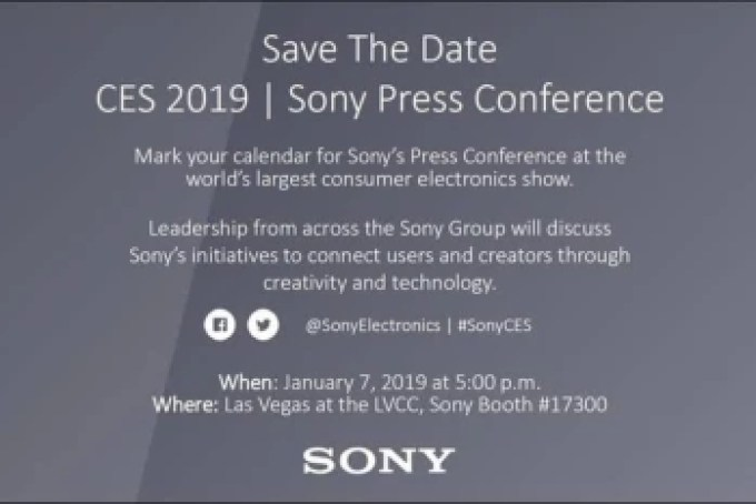 Sony announces CES 2019 event: Xperia XA3/XA3 Ultra may arrive January 7