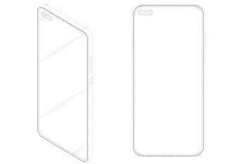 This patent might hint at the Galaxy S11's design