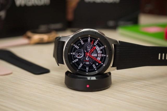 The Samsung Galaxy Watch 3