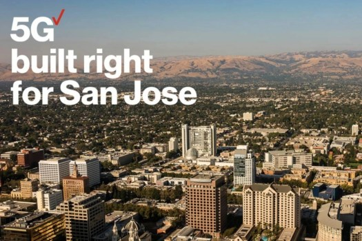 San Jose is one of only 36 cities partially covered by Verizon's spotty 5G Ultra Wideband network - Verizon no longer plans to charge extra for 5G service anytime soon