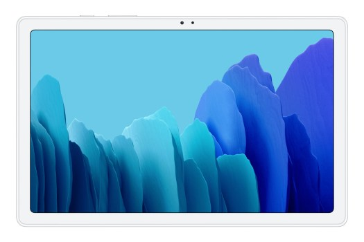 Silver - Samsung Galaxy Tab A7 — quad speakers, modern look, affordable price