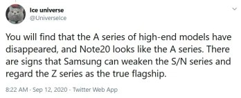 Samsung could be downgrading the Galaxy S and Galaxy Note lines - Tipster says that Samsung could be making major changes to its flagship lines