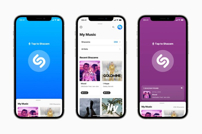 Apple brings the biggest update to Shazam since its acquisition
