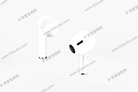 Alleged AirPods Pro Lite/AirPods 3 render - Apple AirPods 3/Pro Lite with $50 lower price and better battery life tipped for 2021 release again