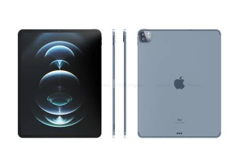 CAD-based iPad Pro (2021) renders - Next iPhone to offer in-screen Touch ID; may be called iPhone 12S