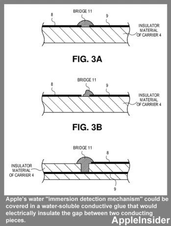Apple patents better water damage detection to fend off