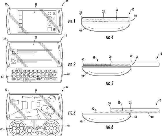 Original design for Sony Ericsson Xperia PLAY had