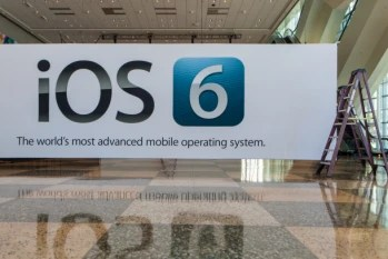 Banners for the new iOS 6 are up and ready for WWDC 2012