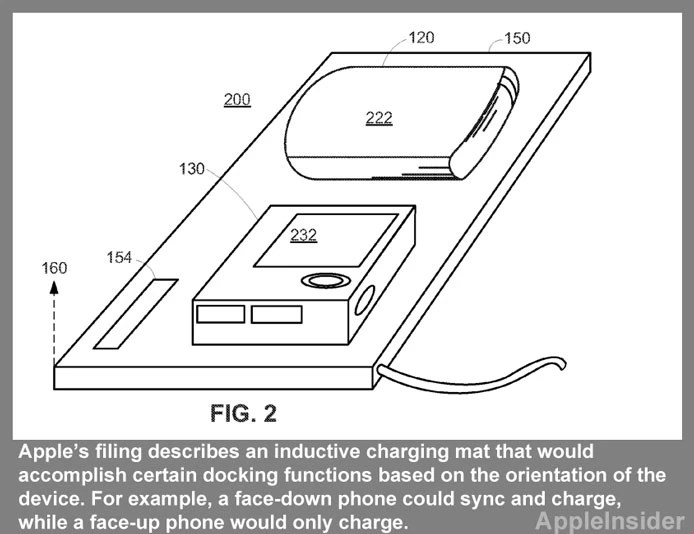 Apple has filed a patent for wireless inductive charging