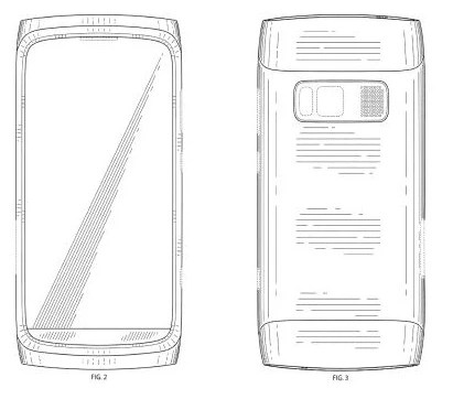 Nokia receives design patent for phone with big camera