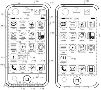 Patent continuation shows that Apple is working on