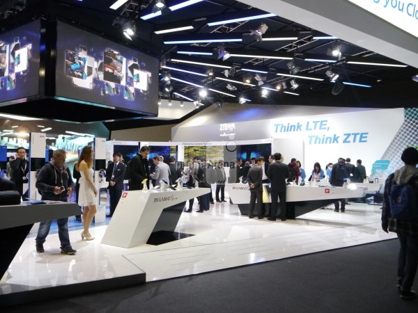 Booth- Call Mwc Expo Displays Of Samsung Nokia