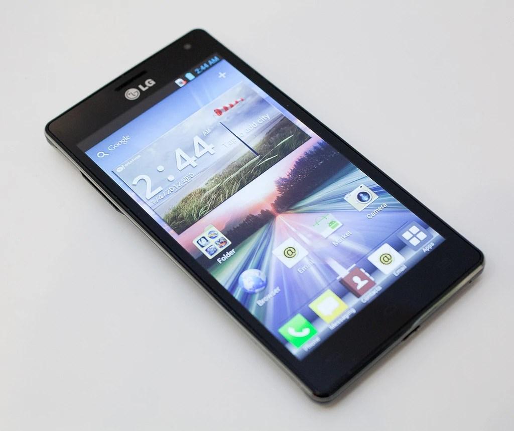 LG Optimus 4X HD recibe Jelly Bean Android 4.1.1