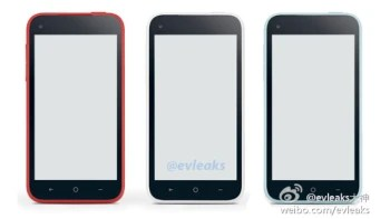 The Facebook phone might come with different color options, new HTC First leak shows