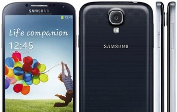 The new Samsung Galaxy Note III is expected to look like a bigger Galaxy S4 (pictured above).