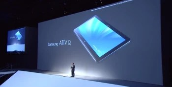 Samsung ATIV Q tablet is announced with record-high resolution, boots Windows 8 and Android